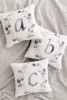 DENY Designs Iveta Abolina For Deny Pink Summer Monogram Pillow