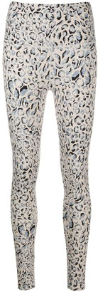 Varley Century cheetah-print leggings