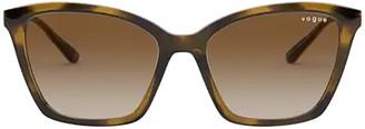 Vogue Eyewear Vogue Vo5333s Dark Havana Sunglasses