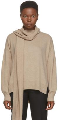 LOULOU STUDIO Beige Cashmere Spano Sweater