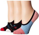Vans Just Becuz Canoodles 3-Pack Women's Crew Cut Socks Shoes
