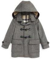 Burberry Girl's 'Burwood' Wool Toggle Coat