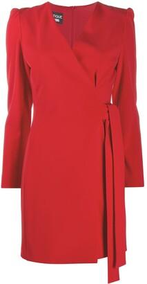 Boutique Moschino Tie-Side Mini Dress