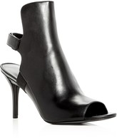 Via Spiga Women's Ida Ope Toe Slingback Booties