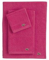 Lacoste Legend Towel, Bath, Magenta