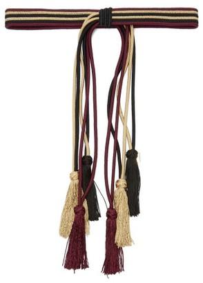 Etro Tasselled Rope Belt - Womens - Purple Multi