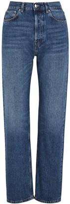 Totême Ease Blue Straight-leg Jeans