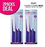 Goody iBeauty Combo Combs 3Pcs (2-Pack)