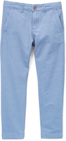 Isaac Mizrahi Blue Cotton-Blend Pants - Boys