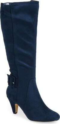 Bella Vita Troy Knee High Buckle Boot