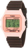 Timex Women's T2N2419J Fashion Digitals Premium Pink Watch