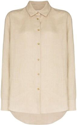 ASCENO Milan linen shirt