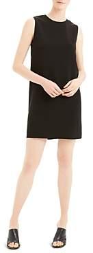 Theory Column Sleeveless Shift Dress