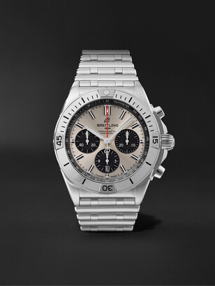 Breitling Chronomat B01 Automatic Chronograph 42mm Stainless Steel Watch, Ref. No. AB0134101G1A1 - Men - Silver
