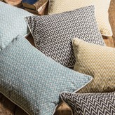 Graham and Green Chevron Ikat Cushions