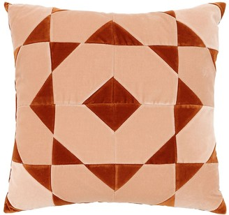 Christina Lundsteen HANNAH SQUARE COTTON VELVET PILLOW