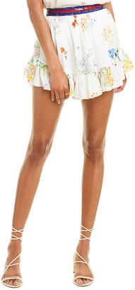 Rococo Sand Ayaka Silk Mini Skirt