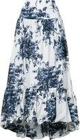 Sonia Rykiel flared floral skirt