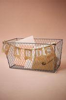 BHLDN Artful Card Basket