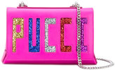 Emilio Pucci Pucci glitter shoulder bag - women - Calf Leather/PVC - One Size