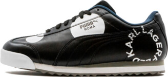 Puma Roma Polka Dot 'Karl Lagerfeld' Shoes - Size 7