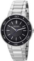 JOOP! Joop Insight Women's Quartz Watch with Black Dial Analogue Display and Silver Stainless Steel Bracelet JP101032F04