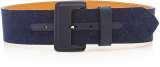 Maison Vaincourt Denim Waist Belt
