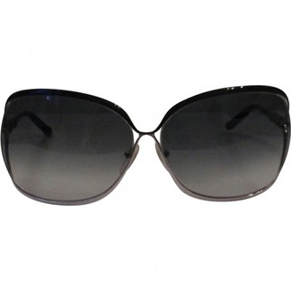 Chrome Hearts Grey Metal Sunglasses