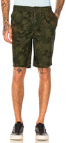 NATIVE YOUTH Aldeburgh Short in Olive. - size 32 (also in 34,36)