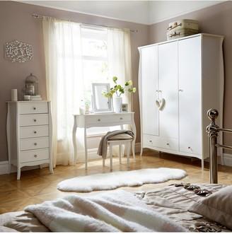 Baroque 3 Door, 2 Drawer Wardrobe