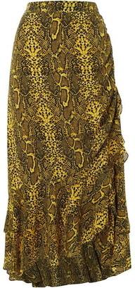 Biba Snake Midi Skirt