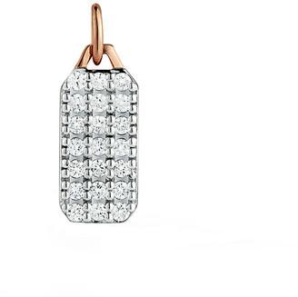 Walters Faith Dora All Diamond Mini Tablet Charm - Rose Gold