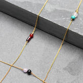 Kat&Bee Seven Semi Precious Stone Healing Necklace
