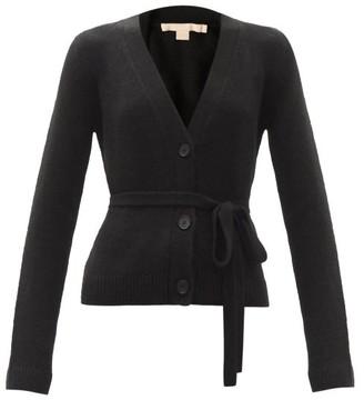 Brock Collection Samira Waist-tie Cashmere Cardigan - Black