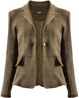 Fern Wool & Canvas Blazer