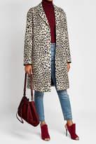Roberto Cavalli Printed Virgin Wool Coat