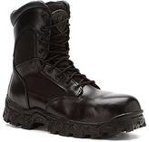 "Rocky Men's Alpha Force 8"" Side Zip WP CT EH Boot"