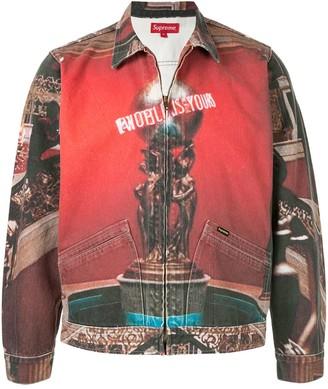 Supreme Scarface denim jacket