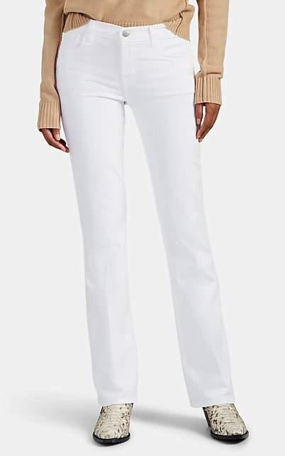 J Brand Women's Sallie Mid-Rise Boot-Cut Jeans - White