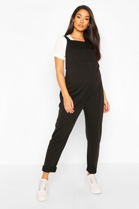 boohoo Maternity Pocket Detail Pinafore Dungaree