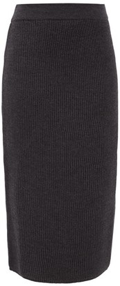 MAX MARA LEISURE Emerson Skirt - Dark Grey