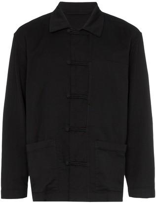Issey Miyake Chinese button shirt jacket