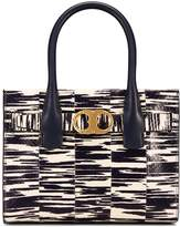 Tory Burch GEMINI LINK SNAKE SMALL TOTE