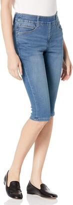 Jag Jeans Women's Petite Bryn Pedal Pusher Jean