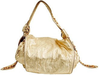 Givenchy Gold Leather Handbags