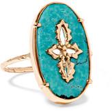 Pascale Monvoisin Sunday 9-karat Rose Gold Turquoise Ring - 6