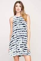 RVCA Junior's Abel Jersey Swing Tie Dye Dress with Side Pockets