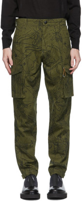 Givenchy Khaki Astral Cargo Pants