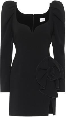 Magda Butrym Wool-blend minidress