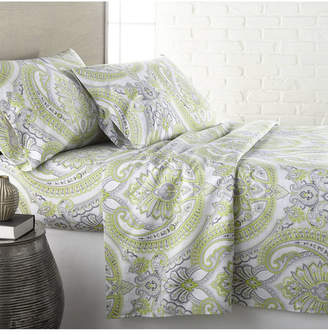 Southshore Fine Linens Pure Melody Classic Paisley Sheet Set, King Bedding